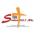 Logo da emissora Radio Sendero 103.7 FM