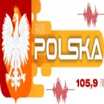 Logo da emissora Rádio Polska 105.9 FM