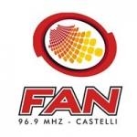 Logo da emissora Radio FAN 96.9 FM