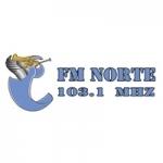 Logo da emissora Radio Norte 103.1 FM