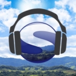 Logo da emissora Rádio Serrazul