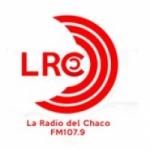 Logo da emissora LRC Radio 107.9 FM