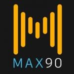 Logo da emissora Rádio Max 90