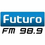 Logo da emissora Radio Futuro 98.9 FM