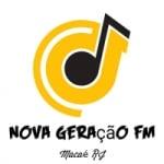 Logo da emissora Rádio Nova Geração FM Macaé RJ