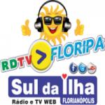 Logo da emissora RDTV Floripa Rádio e TV Web