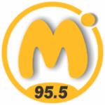 Logo da emissora Radio Máxima 95.5 FM