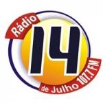 Logo da emissora Rádio 14 de Julho 1420 AM