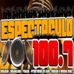 Logo da emissora Radio Espectaculo 100.7 FM