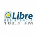 Logo da emissora Radio Libre 102.1 FM