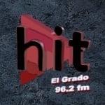 Logo da emissora Radio Hit El Grado 96.2 FM
