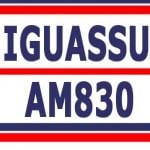 Logo da emissora Rádio Iguassu 830 AM