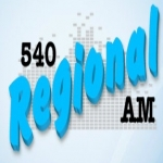 Logo da emissora Rádio Regional 540 AM
