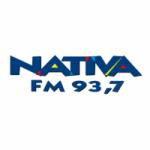 Logo da emissora Rádio Nativa 93.7 FM