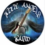Logo da emissora Rock Angels Radio
