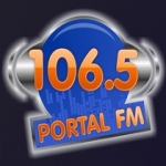 Logo da emissora Rádio Portal 106.5 FM