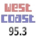 Logo da emissora Radio West Coast Radio 95.3 FM