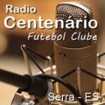 Logo da emissora Rádio Centenário FC