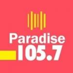 Logo da emissora Radio Paradise 105.5 FM