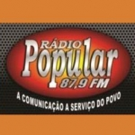 Logo da emissora Rádio Popular 87.9 FM