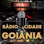 Logo da emissora Rádio Cidade Goiânia