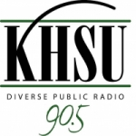 Logo da emissora Radio KHSU 90.5 FM