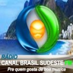Logo da emissora Rádio Canal Brasil Sudeste FM
