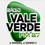 Logo da emissora Rádio 87 FM Vale Verde