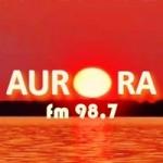 Logo da emissora Rádio Aurora FM