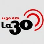 Logo da emissora Radio La 30 Nacional 1130 AM