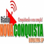 Logo da emissora Rádio Nova Conquista Diadema