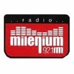 Logo da emissora Radio Milenium 92.1 FM