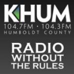 Logo da emissora Radio KHUM 104.7 FM