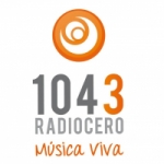 Logo da emissora Radio Cero 104.3 FM