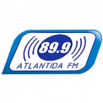 Logo da emissora Radio Atlántida 89.9 FM