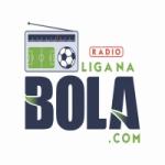 Logo da emissora Rádio Liga na Bola