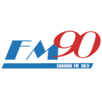 Logo da emissora Radio La Noventa 90.9 FM