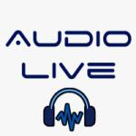 Logo da emissora Rádio Áudio Live