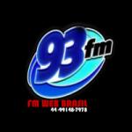 Logo da emissora FM 93 Web Brasil