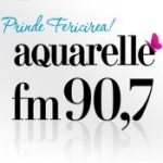 Logo da emissora Aquarelle 90.7 FM