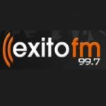 Logo da emissora Radio Exito 99.7 FM