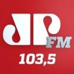 Logo da emissora Rádio Jovempan 103.5 FM