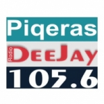 Logo da emissora Piqeras Deejay 105.6 FM