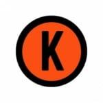 Logo da emissora Rádio Torcida K