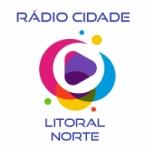 Logo da emissora Rádio Cidade Litoral Norte