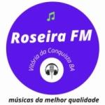 Logo da emissora Rádio Roseira FM