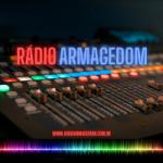Logo da emissora Rádio Armagedom