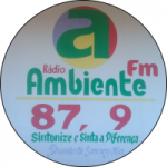 Logo da emissora Rádio Ambiente FM