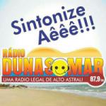 Logo da emissora Rádio Dunas Mar FM