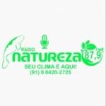 Logo da emissora Rádio Natureza FM